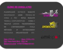 """1a Sesión Presencial con """"Dragons Bcn"""" – Carrera a Pie"""