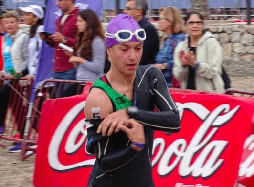 swim triatlón