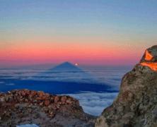 Tenerife. Ascenso al Teide desde el mar.