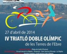 """TRIATLÓN DOBLE OLÍMPICO """"TERRES DE L'EBRE"""" – 2014"""